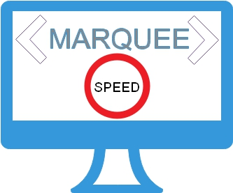 HTML Marquee - Speed of scrolling text