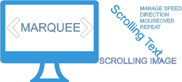 Marquee html example