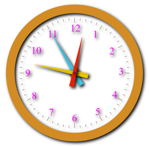 Analog Clock as Stopwatch with start stop and reset functions in html canvas
