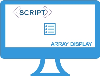 Displaying all elements of JavaScript array by looping