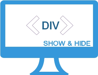 Show hide div layer onclick of buttons