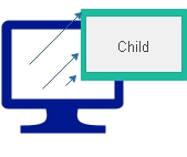 Opening small child window from main parent page and